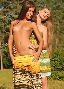 Two hot teen models.