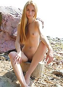 Adorable nude blonde