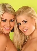 Rikki and  Lucy - Natural blondes - Two natural lesbian blondes fucking