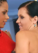 Ema and  Izabella - Ema and Izabella - Ema and Izabella are kissing naked