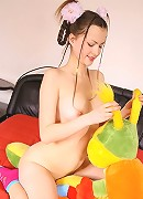 Elena has many erotic fantasies. She performs one of them for you now!