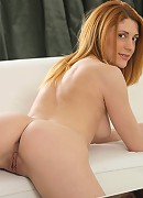 Nubiles.net Sara Redz - Hot Nubile Sarah Redz strips off her panties and spreads her shaved twat