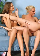 Sophie, Electra, Sandra, Brooke and Aimee - Five stunners undress and tongue