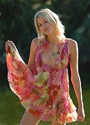 Zemani.com Mila - Fantastic blond Mila shows her perfect body near a lake.